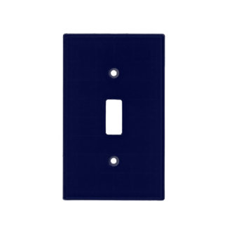 Only navy blue gorgeous solid color OSCB13 Light Switch Cover