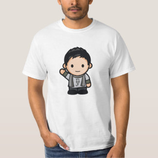 Only on Front T-Shirt