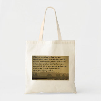 """Only one heart..."" Tote Bag"