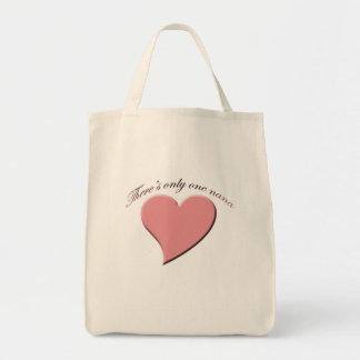 Only one nana tote bag