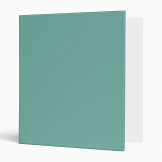 Only pale jade mint green solid color OSCB01 3 Ring Binders