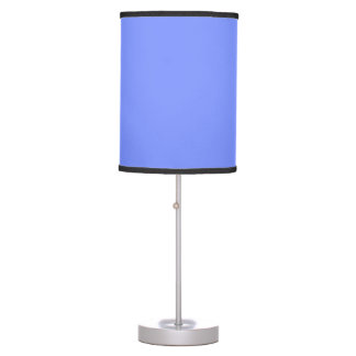 Only periwinkle blue elegant solid colour OSCB32 Table Lamps