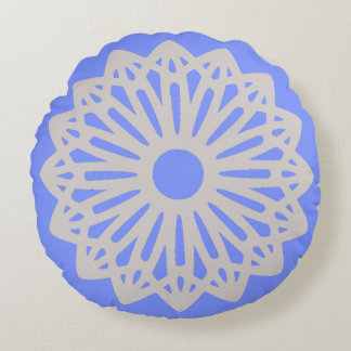 Only periwinkle blue lace silhouette pillows