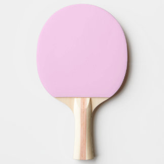 Only pink pretty solid colour OSCB14 Ping-Pong Paddle