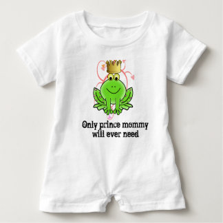 Only Prince Mommy Will Ever Need baby romper