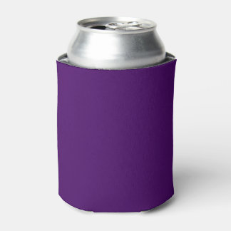 Only purple deep cool solid color OSCB15 Can Cooler