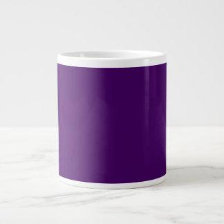 Only purple deep cool solid color OSCB15 Large Coffee Mug