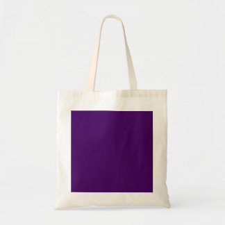 Only purple deep cool solid color OSCB15 Tote Bag