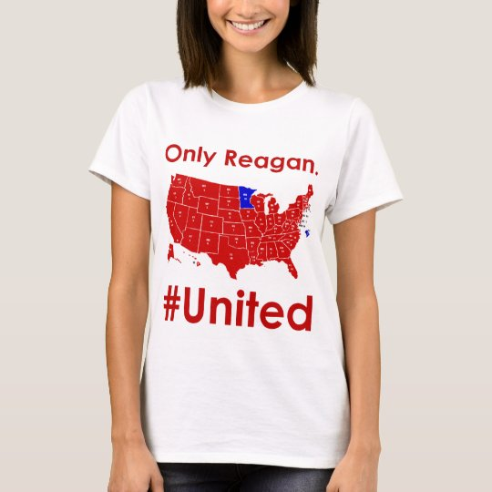 Only Reagan- #United Womens tee