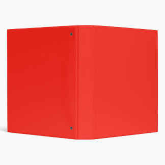 Only red tomato rustic solid color Binder
