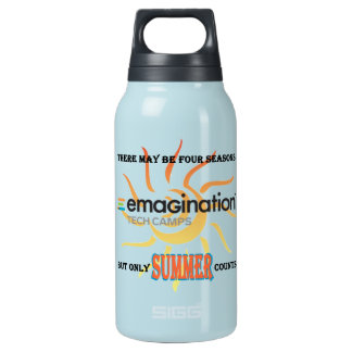 Only Summer Counts Insulated Water Bottle