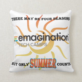 Only Summer Counts Pillow