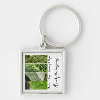 Only the Beginning Keychain