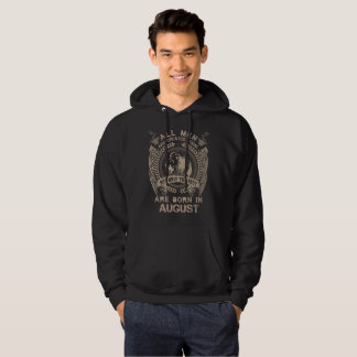 Only The Best Are Born In August | Lion Hoodie