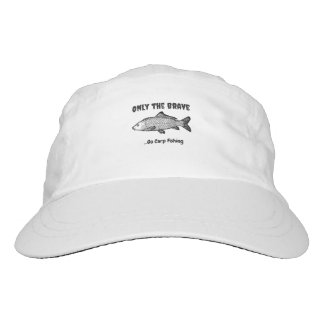 """Only the Brave..Go Fishing"" cap"