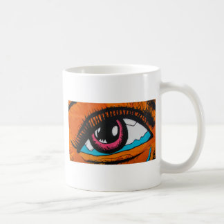Only the eyes can tell coffee mug