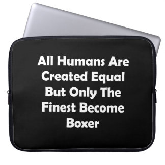 Only The Finest Become Boxer Computer Sleeve