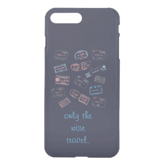 only the wise travel iPhone 7 plus case