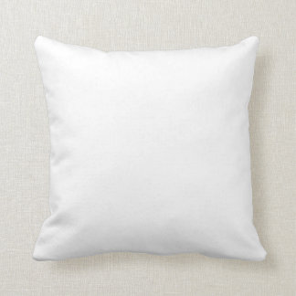 Only white modern solid OSCB26 background Throw Pillow