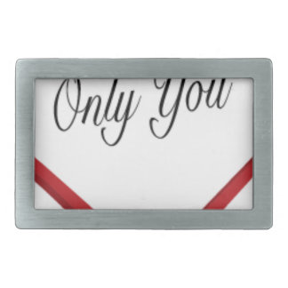 Only You Belt Buckle