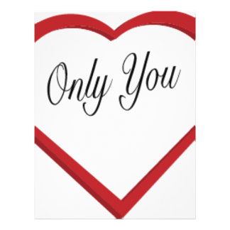Only You Letterhead