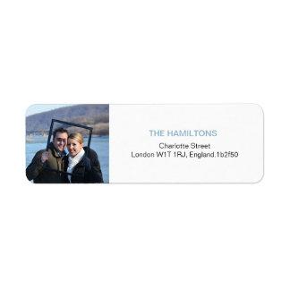 Only You | Modern Photo Return Address Labels