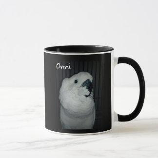 Onni The Baby Umbrella Cockatoo Mug