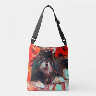 ONNI the Finnish Lapphund tote/ cross body 3 size Crossbody Bag