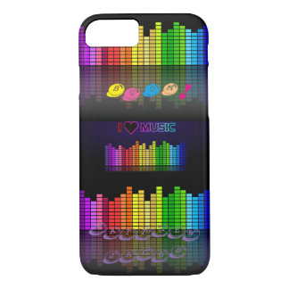 Onomatopoeia word boom thinking music beats iPhone 7 case