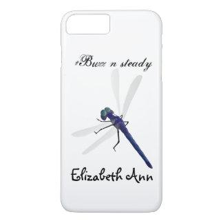 Onomatopoeia word buzz thinking dragonfly iPhone 7 plus case