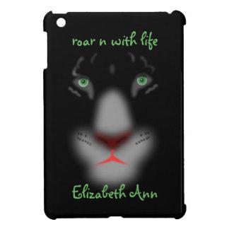 Onomatopoeia word roar thinking black panther iPad mini covers