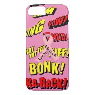 Onomatopoeia words thud, pow, biff, karack, blam.. iPhone 7 case