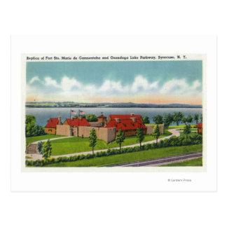 Onondaga Lake Parkway Postcard