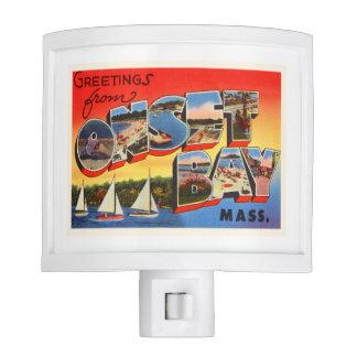 Onset Bay Massachusetts MA Vintage Travel Souvenir Nite Lite