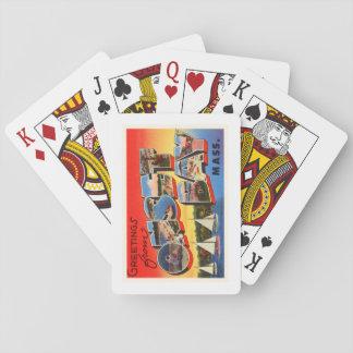 Onset Bay Massachusetts MA Vintage Travel Souvenir Poker Deck