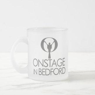 ONSTAGE Logo Frosted Mug