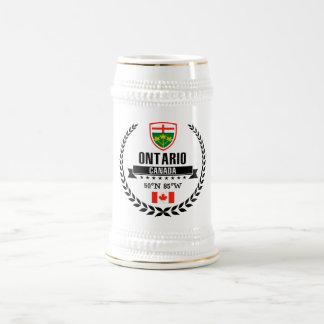 Ontario Beer Stein