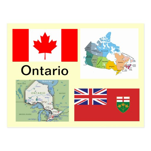 Ontario Canada Post Card