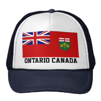 ONTARIO CANADA TRUCKER HAT
