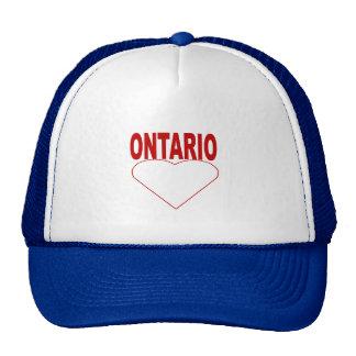 ONTARIO cap Trucker Hat