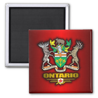 Ontario COA Square Magnet