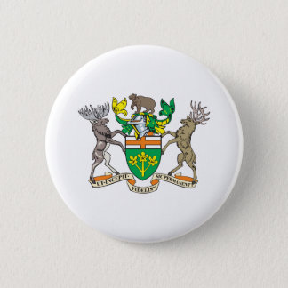 Ontario Coat Of Arms 2 Inch Round Button