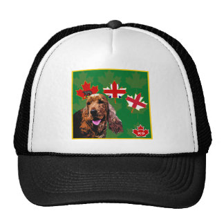 Ontario Cocker Spaniel Trucker Hat