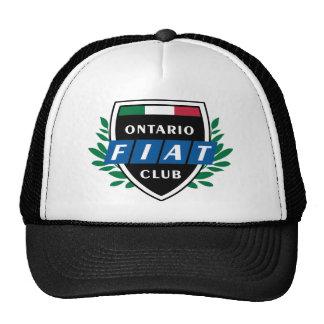 Ontario Fiat Club Hat