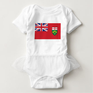 Ontario Flag Baby Bodysuit