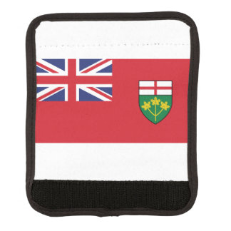 Ontario Flag Luggage Handle Wrap