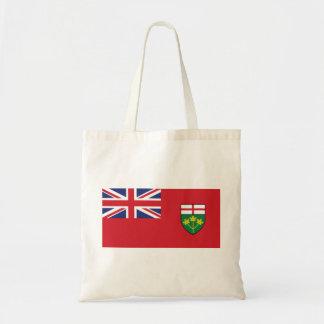 Ontario Flag Tote Bag