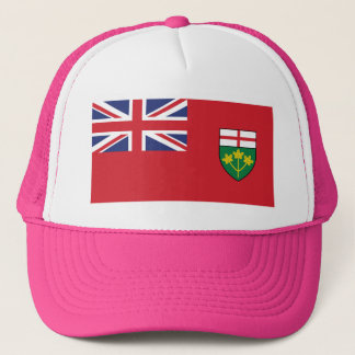 Ontario Flag Trucker Hat