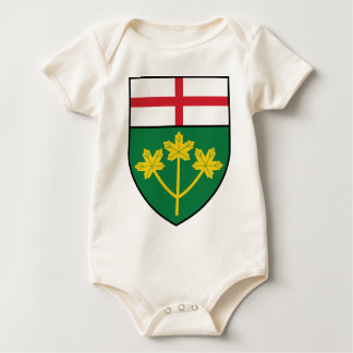 Ontario Shield Baby Bodysuit