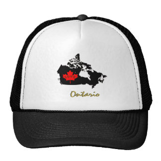 Ontario Toronto Customize Canada hat